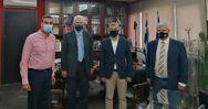 Συνεργασία του Αντιπεριφερειάρχη Φωκίωνα Ζαΐμη με τον Περιφερειάρχη Θεσσαλίας Κώστα Αγοραστό