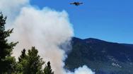 Μεγάλη φωτιά στην Κεφαλονιά: Εκκενώθηκε και δεύτερο χωριό - Πνέουν ισχυροί άνεμοι