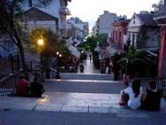 Πάτρα: Οι σκάλες της Γεροκωστοπούλου θέλουν προσοχή - Γυναίκα υπέστη κάταγμα