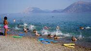 Πάτρα - Δραστηριότητες θαλάσσης από το Πάρκο Εκπαιδευτικών Δράσεων του Δήμου στην πλαζ (φωτο)