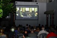 Κινητός Κινηματογράφος - Δεκάδες «σινεφίλ» συναντήθηκαν στο αίθριο του Παλαιού Νοσοκομείου (φωτο)