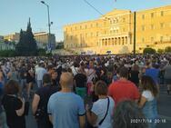 Αθήνα - Εμβολιασμοί: Πάνω από 35.000 άτομα στην συγκέντρωση για τα μέτρα της κυβέρνησης