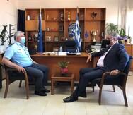 Επίσκεψη Διοικητή 6ης ΥΠΕ στη Γενική Περιφερειακή Αστυνομική Διεύθυνση Δυτικής Ελλάδας (φωτο)