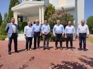 Συνάντηση Χρήστου Δήμα με εκπροσώπους του Συνδέσμου Επιχειρήσεων και Βιομηχανιών Πελοποννήσου και Δυτικής Ελλάδας