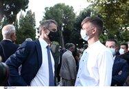 Στη δεξίωση για την αποκατάσταση της Δημοκρατίας ο Ναυπάκτιος Δημήτρης Καρακώστας (φωτο)