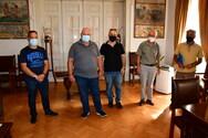 Πάτρα: Συνάντηση αντιδημάρχου καθαριότητας με τον Πρόεδρο του ΣΚΕΑΝΑ