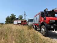Πάτρα: Οριοθετήθηκε η φωτιά στην περιοχή Μποζαϊτίκων - Συχαινών