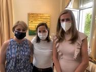 Χριστίνα Αλεξοπούλου: Mε την WomenAct προσκεκλημένη του Αμερικανού Πρέσβη