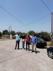Κλιμάκια της Νομαρχιακής Επιτροπής Αχαΐας του ΣΥΡΙΖΑ στις πληγείσες περιοχές από τις πρόσφατες πυρκαγιές (φωτο)