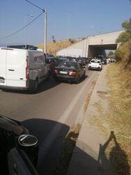 Αχαΐα - Φωτιά: Άνοιξε η Πατρών - Αθηνών και στα δύο ρεύματα κυκλοφορίας