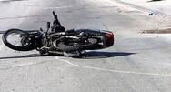 Πάτρα: Τροχαίο στην οδό Ευβοίας - Δικυκλιστής τραυματίστηκε στο κεφάλι