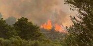 Φωτιά στη Ρόδο: Εκκενώνεται προληπτικά η Μαριτσά