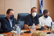 Φαρμάκης: «Στοίχημά μας η αποτελεσματικότητα και η ταχύτητα αποκατάστασης των ζημιών και στήριξης των πληγέντων» (pics+video)