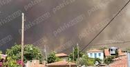 Ηλεία: Μεγάλη φωτιά στην Ηράκλεια - Εκκενώνεται το Πελόπιο (pics+video)