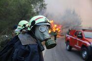 Η μαρτυρία των Κύπριων πυροσβεστών στη Βαρυμπόμπη: Πολύ μεγάλο κακό τους βρήκε