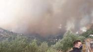 Διπλό μέτωπο φωτιάς στη Μεσσηνία: Πέρασε στην Αρκαδία - Εκκενώθηκαν Βάστα, Ίσαρης και Χράνοι