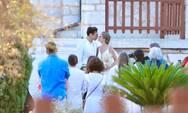 Κουκουράκης-Τρίγγου: Η αδημοσίευτη photo από τον γάμο της Δανάης Μιχαλάκη