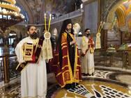 Ο Πατρινός Μητροπολίτης Σαράντα Εκκλησιών στον Ιερό Ναό του Αγίου Ανδρέα