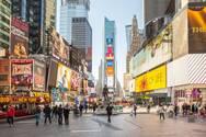 Η Times Square αποκτά συντριβάνι 5,5 μέτρων