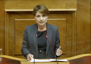 Χριστίνα Αλεξοπούλου - Συλλυπητήρια για τον θάνατο της συζύγου του προέδρου της Τοπικής Κοινότητας Ακταίου, κ. Δημήτρη Καραΐσκου