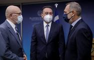 ΥΠΕΞ: O Νίκος Δένδιας καλωσόρισε το νέο υφυπουργό Εξωτερικών, Ανδρέα Κατσανιώτη (φωτο)