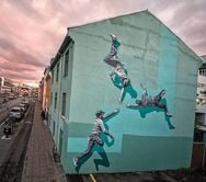 Ο Νορβηγός Anders Gjennestad στην Πάτρα για την 6η τοιχογραφία του ArtWalk 6!