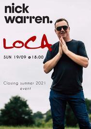 Nick Warren at LOCA Beach Club