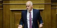 Ο Γιώργος Παπανδρέου για τις συνεχιζόμενες διώξεις του πρώην επικεφαλή της ΕΛΣΤΑΤ