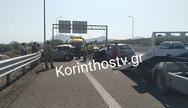 Σοβαρό τροχαίο στην Κορίνθου-Πατρών: Κατέληξε μια γυναίκα (φωτο+video)
