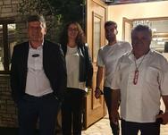 Αχαΐα: Λαζάρου και Υφαντίδης τίμησαν τα Οινοξένεια 2021 (φωτο)