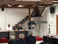 Ο Φωκίων Ζαΐμης στη συνεδρίαση του Δ.Σ. της Ομοσπονδίας Εμπορίου και Επιχειρηματικότητας, στα Καλάβρυτα