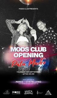 Opening Mods Club
