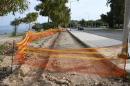 Νέα παύση εργασιών στον παραλιακό ποδηλατόδρομο της Πάτρας