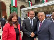 Συνάντηση Αν. Κατσανιώτη με τον πρόεδρο του Μεξικού Α. Ομπραδόρ