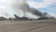 Αχαΐα: Φωτιά σε αγροτική έκταση μπροστά από το στρατιωτικό Αεροδρόμιο του Αράξου (video)