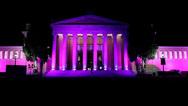 Το Ζάππειο φωταγωγήθηκε ροζ από το 'Άλμα Ζωής' (video)