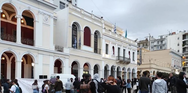 Πάτρα: Αντιφασιστική συγκέντρωση στην πλατεία Γεωργίου από μαθητές και φοιτητές