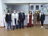 Στο Κέντρο Υγείας Ερυμάνθου και στο ΚΕΠ Σταυροδρομίου ο Διοικητής της 6ης ΥΠΕ κ. Γιάννης Καρβέλης