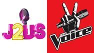 Τηλεθέαση: Σφοδρή σύγκρουση για The Voice και J2US - Έγινε η ανατροπή;