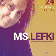 Ms. Lefki at Sofita bar