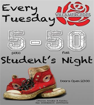 Student's Night 5-50 @ Villa Mercedes Patras