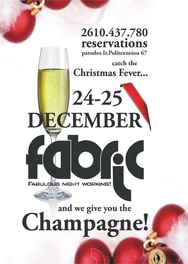 Christmas fever nights @ Fabric