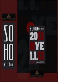 New Years Eve @ Soho