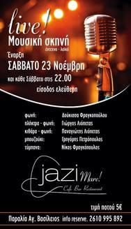 Live Music @ Jazi Mare