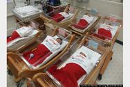 Καλιφόρνια: Ντύνουν τα νεογέννητα Άι Βασίληδες (pics)