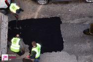 Πάτρα: Το patrasevents...'μπάλωσε' τις λακκούβες στην Αρόη! - Κινητοποίηση του δήμου μετά το δημοσίευμα