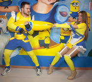 Group 8: Minions Fax Χιονάτη