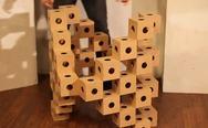 Ghostcubes: Μοναδικές κατασκευές με μια... απλή κίνηση! (video)