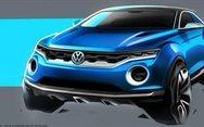 Το νέο πρωτότυπο VW T-ROC concept (pics+vids)