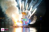 Πάτρα: Με το τέλος του καρναβαλιού, 'κάψαμε' και την Μέρκελ! (pics+vids)